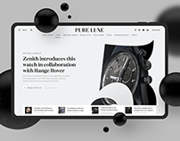 Pure Luxe — Online Magazine