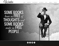 Writer - Responsive Joomla Template