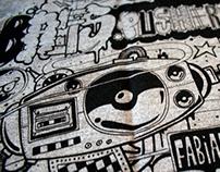 Bass Pushers #1 Mix Tape Clothing