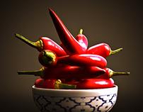 3d Chillies