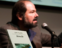 "Book presentation ""Arrecife"" by Juan Villoro"