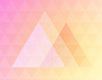 Gradient #illustration #triangle