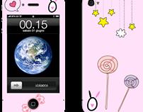Cantinho da Totinhas iPhone Case