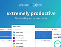 Tahometer - Time-tracking App for Large Teams