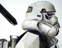 Sandtrooper Illustration