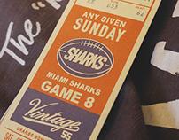 Vintage 55 Branding & T-shirt Print design