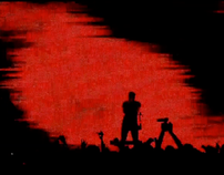 Nine Inch Nails: Lights In The Sky 2008 tour visuals (video)