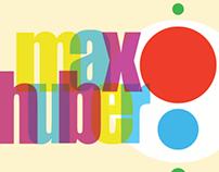 Max Huber Poster