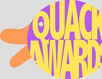 quack awards logo designs