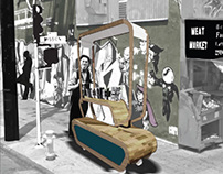 Vendor Carts, Plaza Adelante, 19th St & Mission St, SF