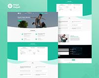 PASHA Life Insurance - Landing page design