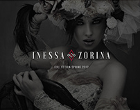 Inessa Zorina fashion designer website