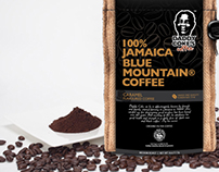 Daddy Coke's Coffee Logo and Packaging Design