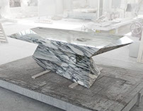 Loris, a table hidden in the marble