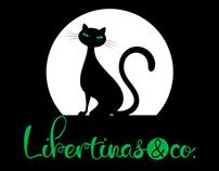 Libertinas & co. Superior script font