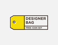 DESIGNER BAG - Free icon set
