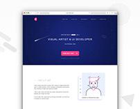 Self Branding - My old website