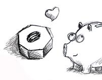 Porco e a Porca Infanto e Adulto