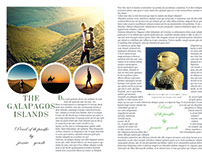 Travelling Magazine design