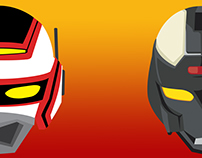 Juspion/Jaspion and Macgaren - T-shirts and posters