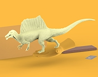 Spinosaurus 1:35 Resinkit By. Vitamin Imagination