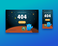 DailyUI Day 8 - 404 Page