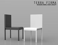 Terra Firma : Modern Minimalist Dining Chair