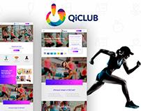 QiClub UI/UX