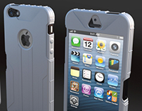 I Phone protection cover 3d concept
