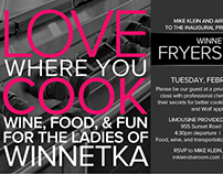 Invitation: Cocktail and Cooking Party