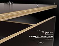Voronoi Table Prototype #1