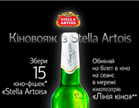 Stella Artois with LiniaKino&Novus advertising