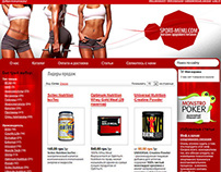 SportMenu - Sport Nutrition web store