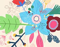 Sketchy bouquet