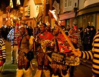 Lewes Borough Bonfire Society procession - 4 Nov 2017