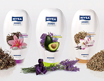 Nivea massage oil