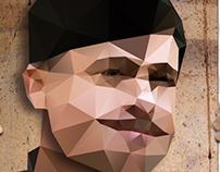 Triangulated movie posters