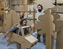 "Workshop ""Made in Cardboardia"". September"