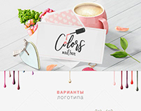 logo for Colors nail bar