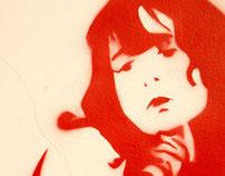 Kinky Girls Stencils 2