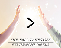 The Fall Takes Off: Five Trends For The Fall