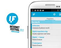INTERNET FESTIVAL 2012 // Official App