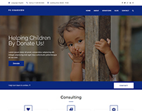 FC Charicen - Charity Website Template