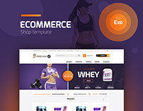 e-commerce shop template