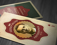 Vintage Playing Card - Business Card