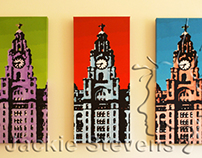 Liver Building Triptych