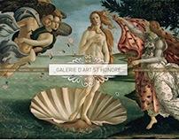 Web Site Galerie d'Art St Honoré