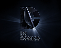 DC COMICS LOGO FOR DARK KNIGHT RISES