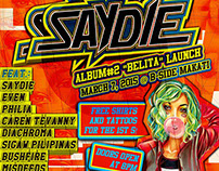 "Saydie Album #2 ""Belita"" Launch Poster"
