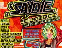 """Saydie Album #2 """"Belita"""" Launch Poster"""